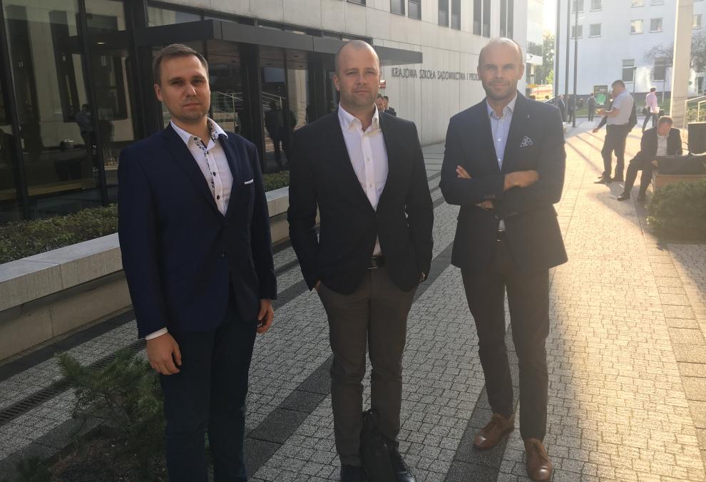 Przemysław Furmanek, Szymon Mojzesowicz iNorbert Banaszek